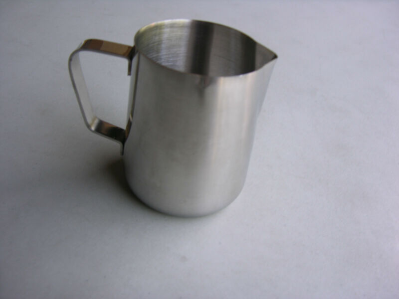 12 OZ ESPRESSO MILK FROTHING PITCHER STAINLESS STEEL FREE SHIPPING US ONLY