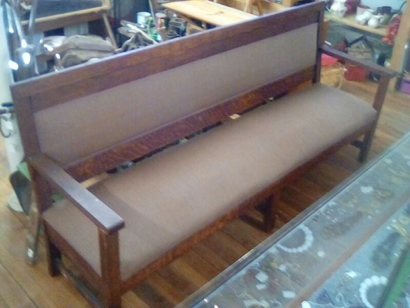 Seven Foot Long Vintage Bench