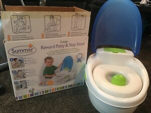 Summer infant potty and step stool