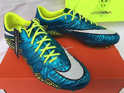 59e26305fc2a Nike HyperVenom Phinish FG 744947-400 Blue Lagoon Soccer Cleats Shoes  Women s 9