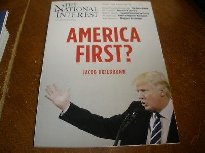 The National Interest Magazine America First Donald Trump Cover April 2017