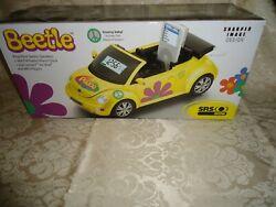 Sharper image VW beetle GT 806 AM/FM radio ipod mp3 player ,alarm clock
