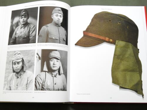 """UNIFORMS & EQUIPMENT IMPERIAL JAPANESE ARMY"" WW2 HELMET JACKET REFERENCE BOOK"