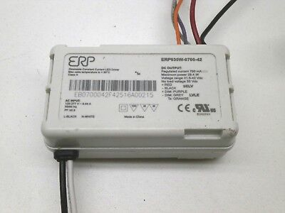 Erp Erp030w-0700-42 Dimmable Constant Current Led Electronic Driver 700ma 32-42v