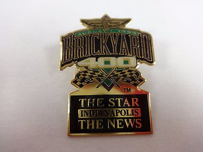 1999 Brickyard 400 Event The Star   The News Sponsors Collector Pin Indy Nascar
