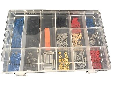 Lego Technic 336 Piece Collection With Storage Box