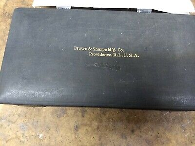 Brown Sharpe 3-4 65 Micrometer With Case