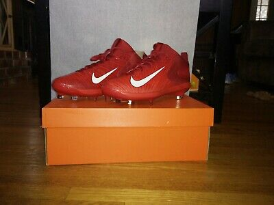 cf6ae41c51c78c Nike Zoom Trout 3 Pro Metal Baseball Cleats Size 10 Varsity Red 856498-667