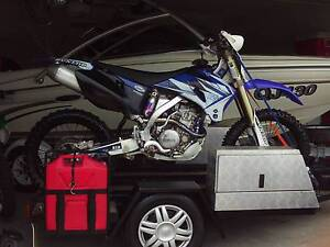 COMPLETE PACKAGE YZ250F 2009 REGO WITH CUSTOM TRAILER SHOW ROOM Officer Cardinia Area Preview