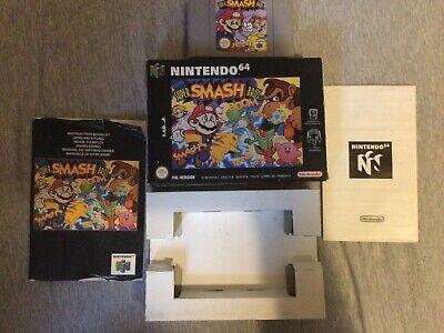 Super Smash Bros. N64 Boxed original UK SELLER