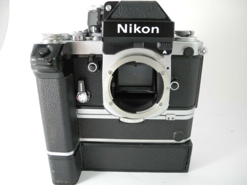 Nikon F2A with motor MD2+MB1 ALL WORKING FILM TESTED