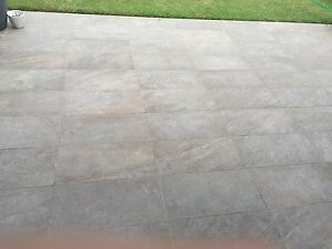 Outdoor large grey tiles Macquarie Links Campbelltown Area Preview