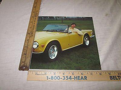 1974, 1975 Triumph Sales Brochure