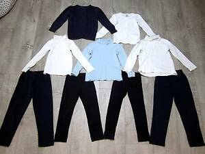 GIRLS BLUE & WHITE CLOTHES X 9 ITEMS – IDEAL FOR SCHOOL Unley Unley Area Preview