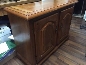 Vintage buffet (hutch) with shelving only $150