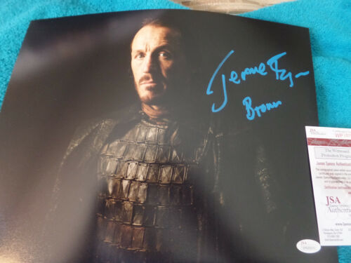 Game of Thrones Jerome Flynn (Bronn) Autographed 11x14 photo JSA Certified