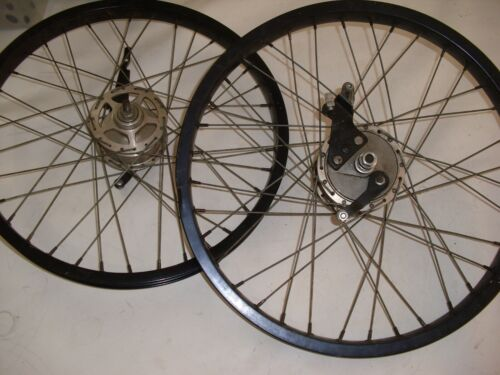 old school Araya 20 x 175 7X wheels rims Strumey Archer drum brake hubs bmx bike
