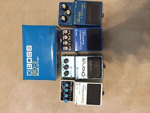 Pedals and amps for sale