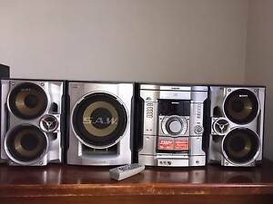 Sony 3-Disc CD Shelf System w/ Game Sync Stereo & SAW sub woofer Hillcrest Port Adelaide Area Preview