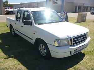 2004 Ford Courier Ute 4x2 4 DOOR AUTOMATIC VERY TIDY!! East Rockingham Rockingham Area Preview