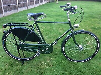 Gentleman's Pashley Sovereign 5 Speed Sturmy Archer Hub Gears. Dynamo Lights.
