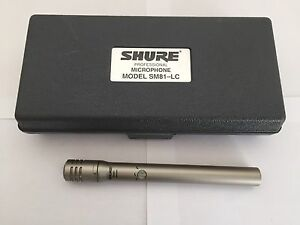 Shure SM81 LC Condenser Mic with Case Cherrybrook Hornsby Area Preview