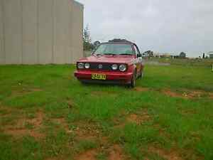 1993 mk1 golf cabriolet - 12 months rego. O'Connor North Canberra Preview