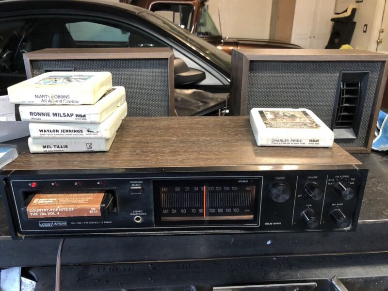 8 Track Player And Radio