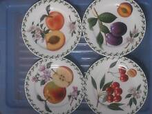Maxwell & Williams Orchard Fruits Bone Chine 10 Plates Modbury Tea Tree Gully Area Preview