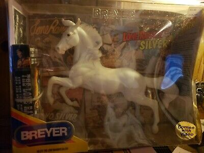 Breyer Horse The Lone Ranger's Silver No. 574 w/ VHS Tape