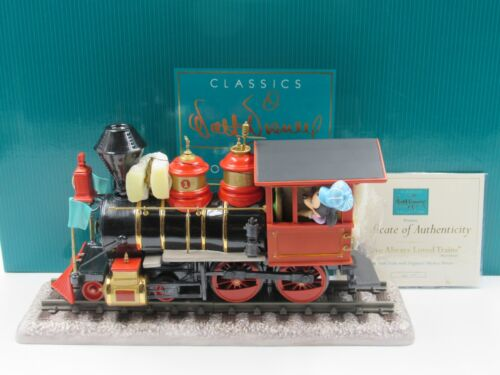 """WDCC """"I Have Always Loved Trains"""" Engineer Mickey Mouse in Box with COA - READ"""