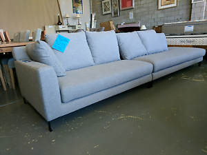 3.4m Sofa / Chaise - factory 2nd Eumemmerring Casey Area Preview