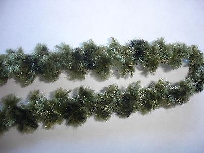 5m Wollborte 0,50€/m grün, wie Chenilleborte DF165