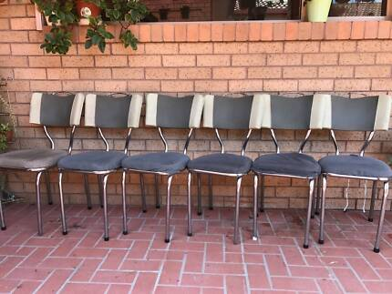 Set Of Six Classic Retro Chairs Part 2
