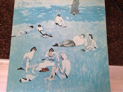 Elton John LP - Blue Moves