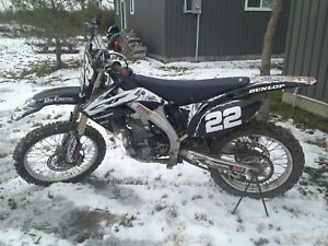 2005 Honda CRF 450R -consider trade for 2 up sled.