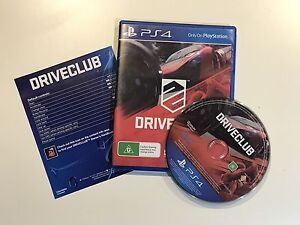 Driveclub for PS4 preowned Plumpton Blacktown Area Preview