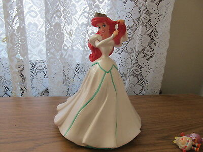 Disney's Princess Vinyl bank Ariel Little Mermaid 12 inch 12 Inch Vinyl Bank