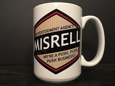 Twilight Zone 15 oz Ceramic Mug Prop A Stop At Willoughby Misrell Ad Agency