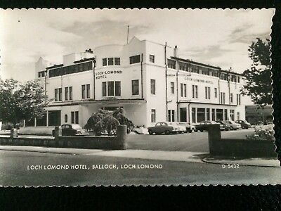 Loch Lomond HOTEL BALLOCH Loch Lomond SCOTLAND  POSTCARD RP