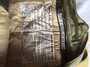 Arctic weight outdoor pants.