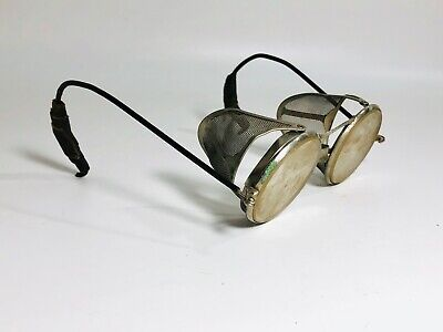 Vintage Wilson Goggles Safety Glasses Steampunk Spectacles, Cycle, Driving