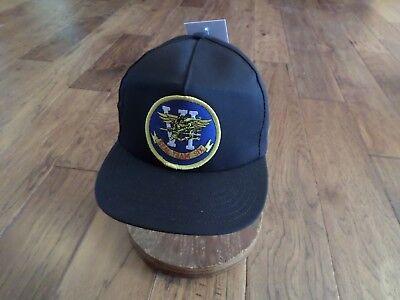 NEW U.S NAVY SEAL TEAM SIX HAT U.S.A MADE MILITARY BALL CAP