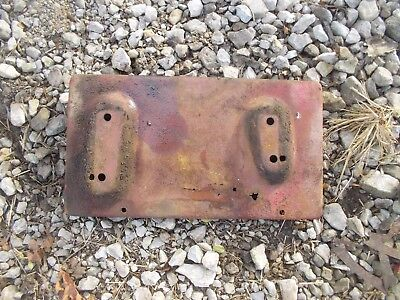 International Farmall 504 Utility Tractor Bottom Battery Holder Tray Ih Ihc