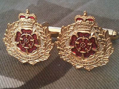 Lancaster Cufflinks - Duke of Lancaster Regiment Military Cufflinks