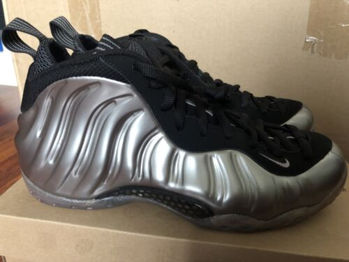 new product c55e5 7a506 DS Nike AIR FOAMPOSITE ONE METALLIC PEWTER BLACK Size 8 314996-004 New фото
