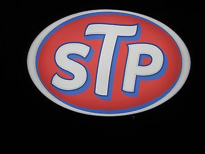 STP Lighted Sign