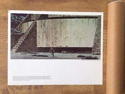 Vintage Star Wars New Hope Ralph McQuarrie Paintings Prints 1977 Concert Art