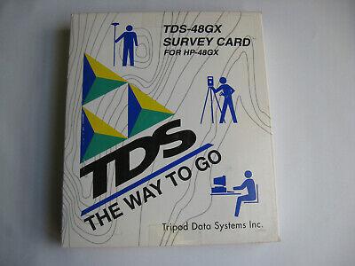 Tds Tripod Data Survey Gx Card For Hp Hewlett Packard Hp 48gx Calculator