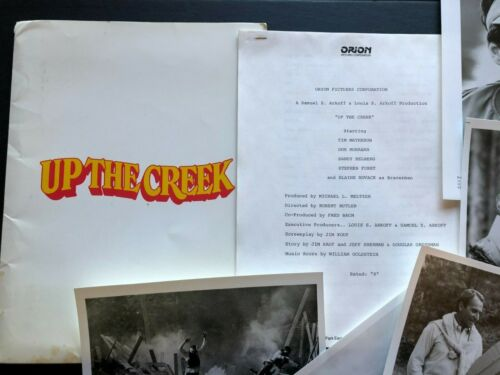 Up the Creek (1984) - Original Movie Press Kit w/Photos & Press News